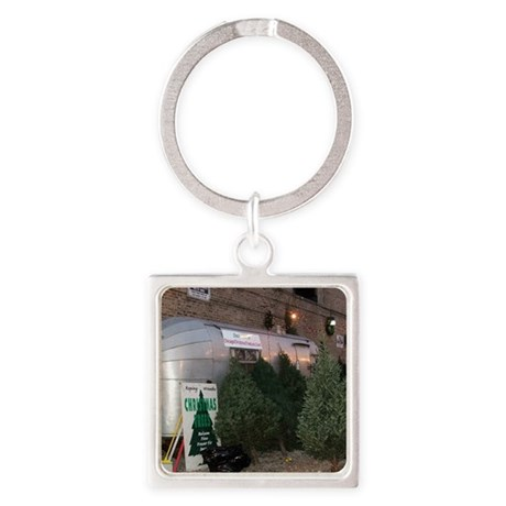 holiday2 Square Keychain