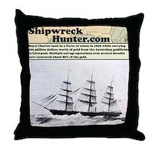 Royal Charter Throw Pillow