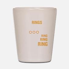 ringsDrk Shot Glass