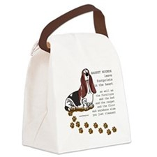 footprints-basset copy.gif Canvas Lunch Bag