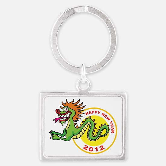 dragon72light Landscape Keychain