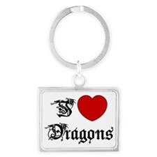 dragon75light Landscape Keychain