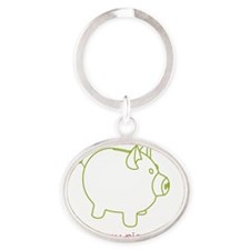 Picture 11 Oval Keychain
