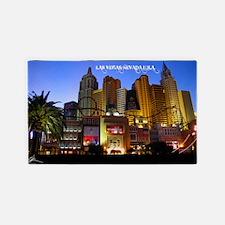 Las Vegas Poster 3'x5' Area Rug