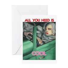 COOL ITEMS Greeting Card