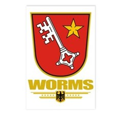 Worms COA Postcards (Package of 8)