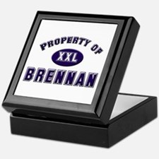 Property of brennan Keepsake Box