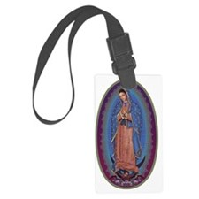 13 Lady of Guadalupe Luggage Tag