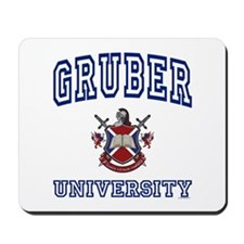 GRUBER University Mousepad