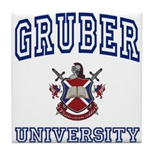 GRUBER University Tile Coaster