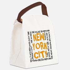 NYC_neighborhoods(on-white)2 Canvas Lunch Bag