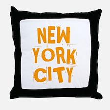 NYC_neighborhoods2 Throw Pillow