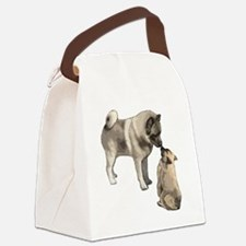 elkie adult and puppy5 Canvas Lunch Bag
