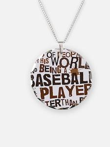 baseballplayerbrown Necklace