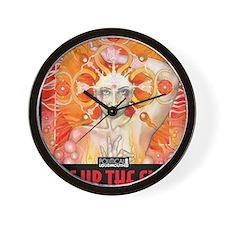 WAR WOMEN FIRE Wall Clock