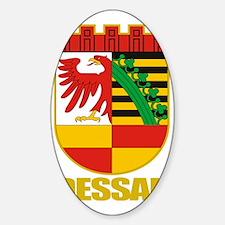 Dessau COA Sticker (Oval)