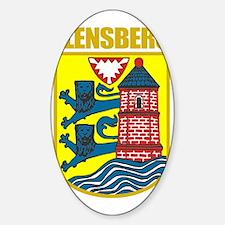 Flensberg (gold) Decal