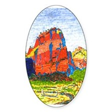 Zion: Angels Landing Oval Decal
