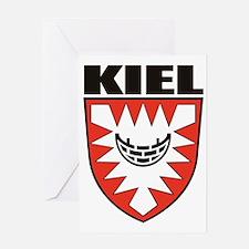 Kiel (blk) Greeting Card