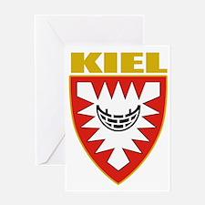 Kiel (gold) Greeting Card