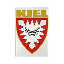 Kiel (gold) Rectangle Magnet