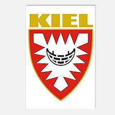 Kiel (gold) Postcards (Package of 8)