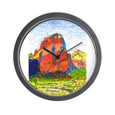 Zion: Angels Landing Wall Clock