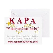 KAPA T-SHRIT LOGO 2011 crs Greeting Card