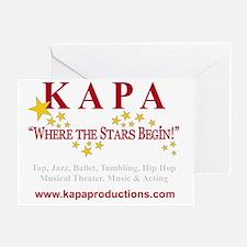 KAPA T-SHRIT LOGO 2011 crs Greeting Card