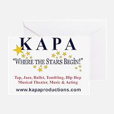 KAPA T-SHRIT LOGO 2011 c Greeting Card