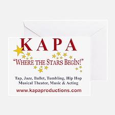 KAPA T-SHRIT LOGO 2011 cr Greeting Card