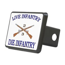 2nd Bn 3rd Infantry cap3 Hitch Cover