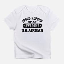 Proud Nephew of an Awesome Airman Infant T-Shirt