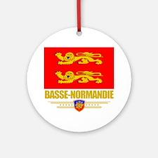 Basse-Normandie (Flag 10) Round Ornament