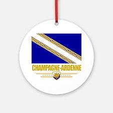 Champagne-Ardenne (Flag 10) Round Ornament