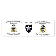2nd Bn 3rd Infantry mug1 Car Sticker