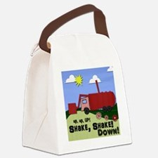 Garbage Truck Shirt Canvas Lunch Bag