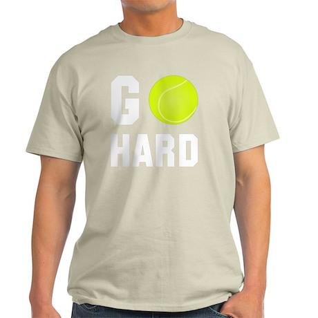 Go Hard Tennis White Light T-Shirt