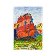 Zion: Angels Landing Rectangle Magnet
