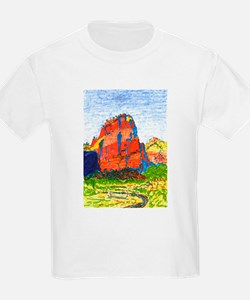 Zion: Angels Landing Kids T-Shirt