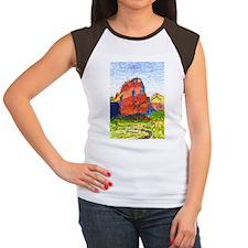 Zion: Angels Landing Women's Cap Sleeve T-Shirt