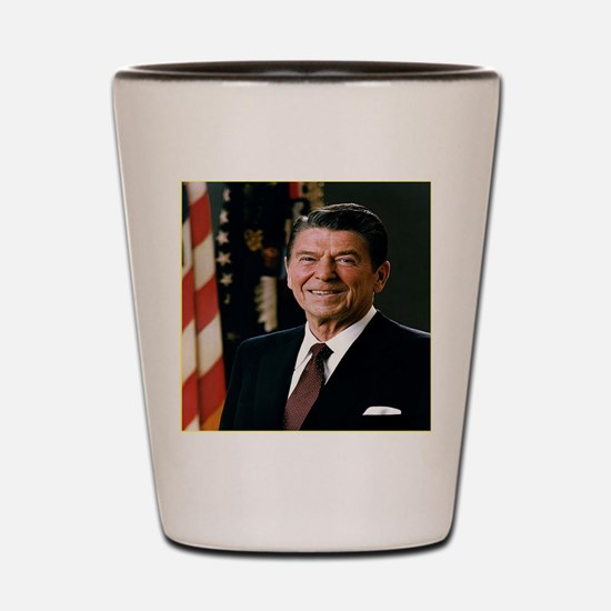 reagan25 Shot Glass