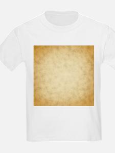 Vintage Paper Look Pattern Print. T-Shirt