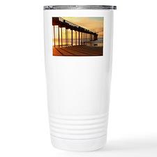 Scripps-Pier-Sunset1 Travel Coffee Mug
