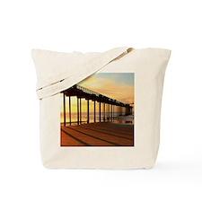 Scripps-Pier-Sunset1 Tote Bag