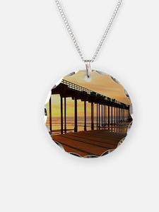 Scripps-Pier-Sunset1 Necklace