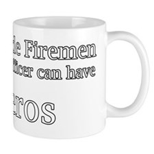 God Made Firemen So Police Officer can  Mug