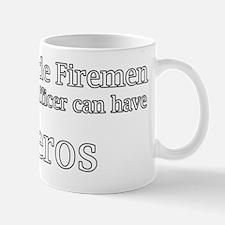God Made Firemen So Police Officer can  Mug