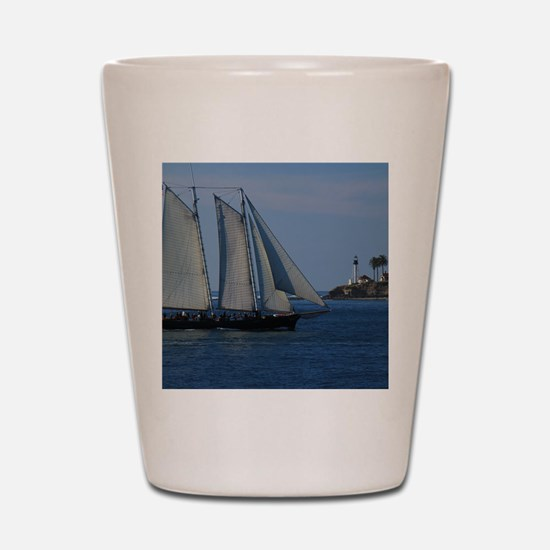 Point-Loma Shot Glass