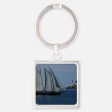 Point-Loma Square Keychain